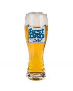 Out of the Blue bier glas Best Dad 750 ml - 106723
