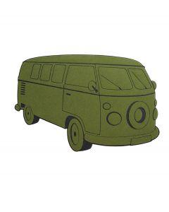 Balvi deurmat VW bus - Groen - 106967