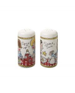 Blond Amsterdam peper en zout set - Even bijkletsen - 105985