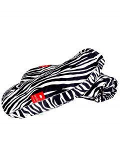 WOBS handwarmers voor op de fiets Bike Pogies - Limited Edition Zebra