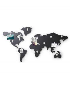 Umbra metalen wereldkaart Mappit memo board - 107321