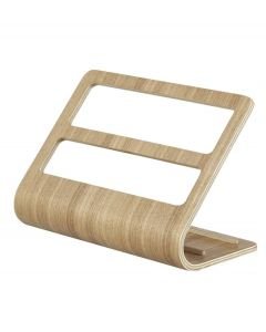 Yamazaki tablet en accessoires houder Rin naturel hout - 107981