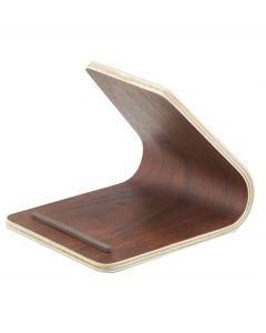 Yamazaki tablet houder Rin donker bruin hout - 107982