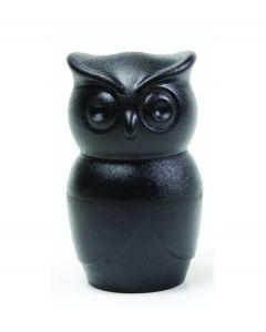 Qualy pepermolen uil Tasty Owl zwart - 107995
