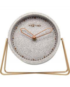 Nextime Staande klok Cross Table Grijs - 108092