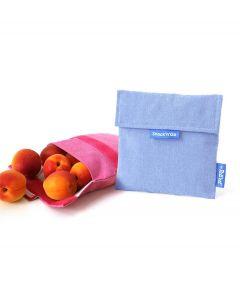 Roll eat herbruikbaar boterhamzakje Snack and Go Eco Blue - 108210