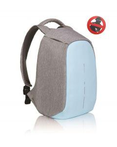 XD Design anti diefstal rugzak Bobby Compact pastel blauw - 108246