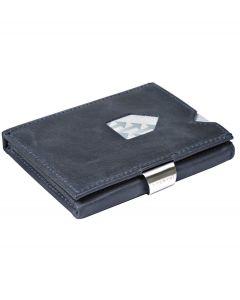 Exentri wallet RFID portemonnee Blauw Leer - 108230