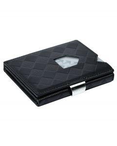 Exentri wallet RFID portemonnee Chess zwart Leer - 108233