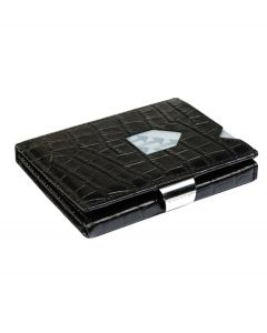 Exentri wallet RFID portemonnee Caiman zwart Leer - 108238