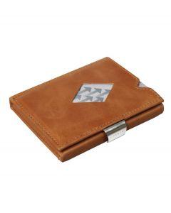 Exentri wallet RFID portemonnee Cognac Leer - 108241