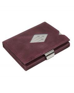 Exentri wallet RFID portemonnee Paars Leer - 108242