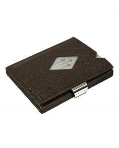 Exentri wallet RFID portemonnee Mosaic bruin Leer - 108245