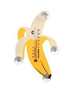 Pluto raam thermometer banaan Geel - 108367