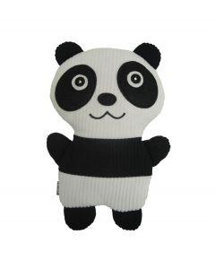 Bitten warmtekussen Huggable Panda - granen -Zwart - wit -Katoen - 108345