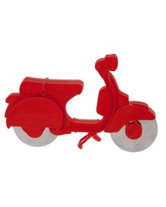 La Chaise Longue Pizzasnijder Scooter Rood