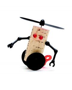 Monkey Business kurkversiering Corkers Robots - Willy - 102090