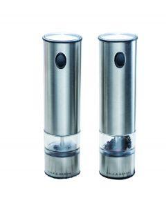 Cole and Mason set van 2 Elektrische peper & zoutmolens Battersea - 102294