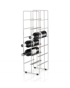 Blomus wijnrek voor 12 flessen PILARE nikkel - 100096