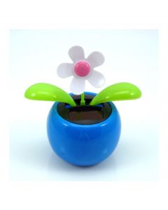 Out of the Blue bewegend bloemetje op zonne energie - Blauw - 102950