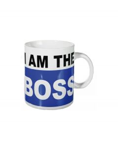 Out of the Blue XL koffiemok I am the Boss - 103567
