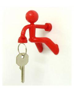 Peleg design sleutelhouder Key Pete - Rood - 100957