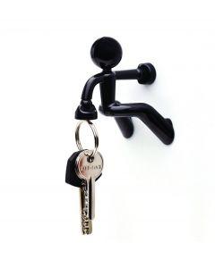 Peleg design sleutelhouder Key Pete - Zwart - 100958