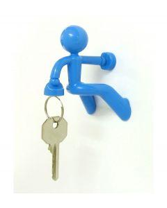 Peleg design sleutelhouder Key Pete - Blauw - 100955