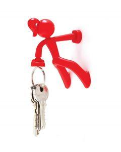Peleg design sleutelhouder Key Petite - Rood - 100960