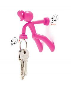Peleg design sleutelhouder Key Petite - Roze - 100959