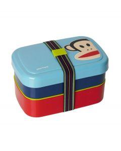 Paul Frank lunchbox driedelig - Blauw - 103731