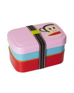 Paul Frank lunchbox driedelig - Roze - 103732
