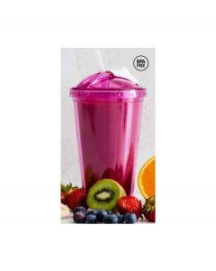 Sagaform smoothie beker Fresh - Roze - 103844
