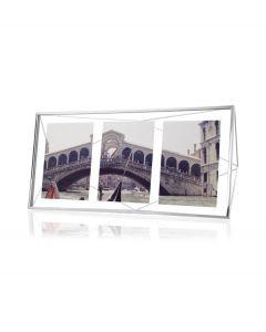Umbra multi fotolijst Prisma - Chroom - 103939