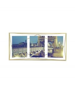 Umbra multi fotolijst Prisma - Messing - 103223