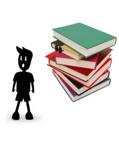Kikkerland boekenlegger poppetje Shoemark - 104310