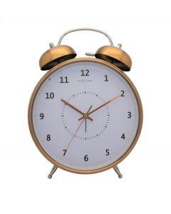 Nextime wekker Wake up large - Koper - Wit - 104407