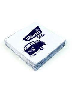 Brisa Set van 20 servetten Volkswagen - The Ultimate Ride - 104897