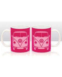 Brisa Mok Volkswagen T1 bus Bulli glitter - Roze - 104823