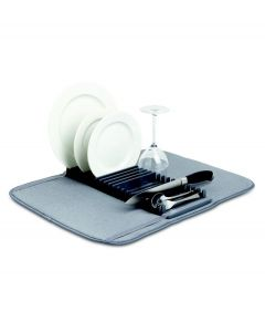 Umbra afwasrek met droogmat Udry - Grijs - 104917