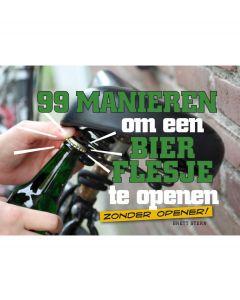 BBNC 99 manieren om een bierflesje te openen - 105184