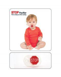 Bitten Baby Speen Pacifier - Stop teken - 105273