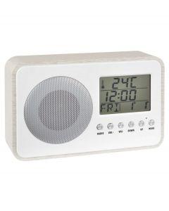 La Chaise Longue wekkerradio Anytime - Wit - 105380