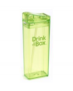 Drink in the Box herbruikbaar drinkpakje - L - Kleur - Groen