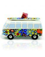 Brisa Spaarpot Volkswagen T1 bus - Bloemen - 104892