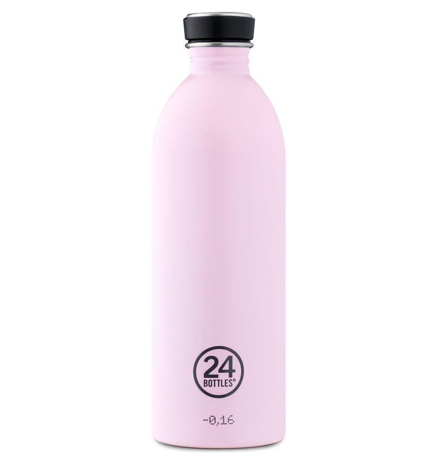 Afbeelding van 24Bottles drinkfles Urban Bottle Candy Pink 1 liter