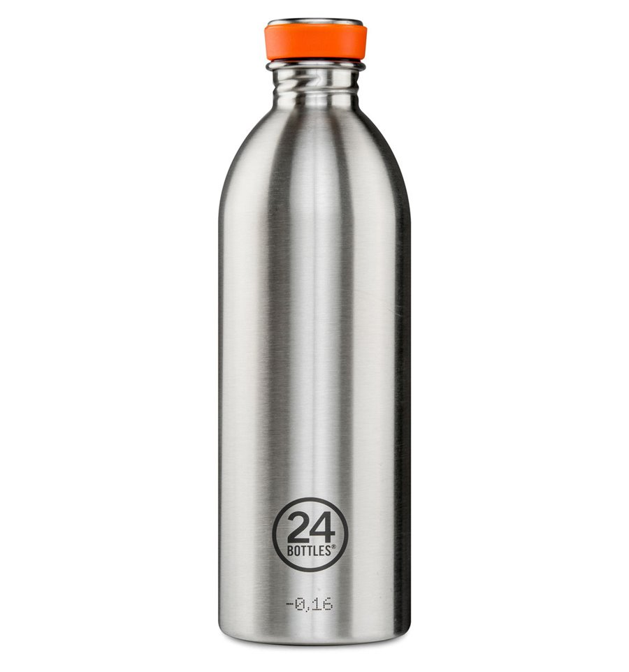 Afbeelding van 24Bottles drinkfles Urban Bottle Steel 1 liter