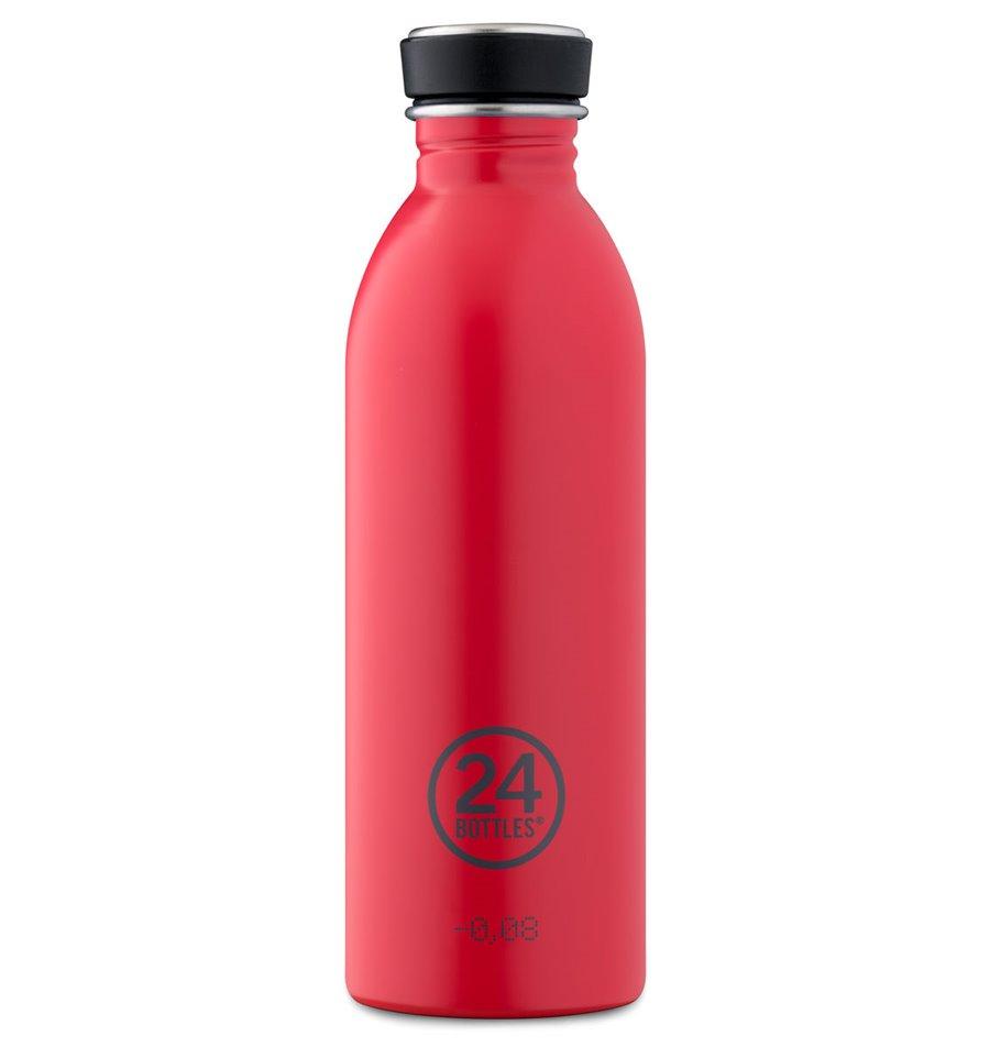 Afbeelding van 24Bottles drinkfles Urban Bottle Hot Red 500 ml