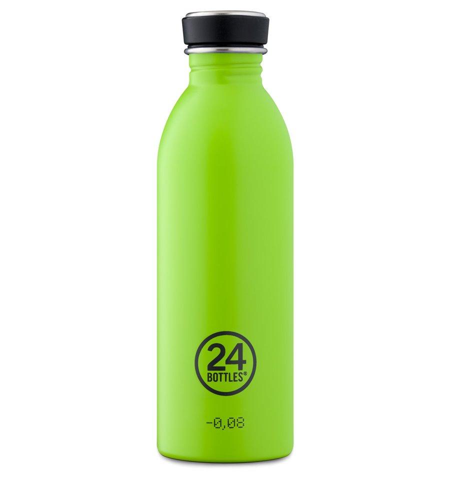 Afbeelding van 24Bottles drinkfles Urban Bottle Lime Green 500 ml