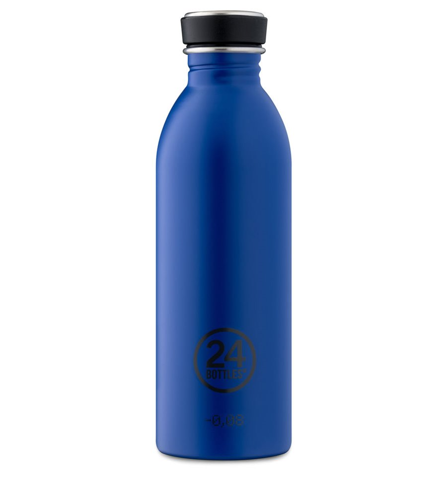 Afbeelding van 24Bottles drinkfles Urban Bottle Gold Blue 500 ml